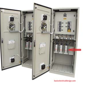 HT capacitor bank and reactor