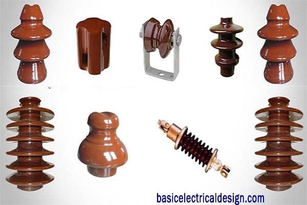 types of insulators overhead power line insulator basic